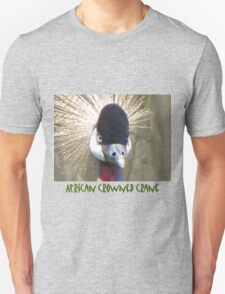 African Crowned Crane T-Shirt