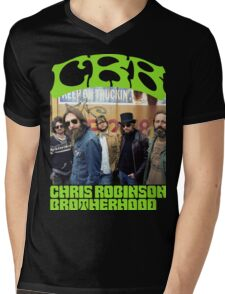 ANISUNO06 The Chris Robinson Brotherhood Tour 2016 Mens V-Neck T-Shirt
