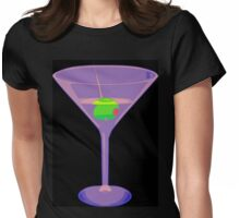 Shaken Not Stirred Womens Fitted T-Shirt