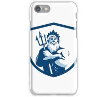 Triton Trident Arms Crossed Crest Retro iPhone Case/Skin