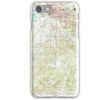 USGS TOPO Map Arkansas AR Malvern South 259001 2000 24000 iPhone Case/Skin