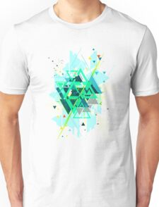 Digital Abstract Geometric Supreme Blast Unisex T-Shirt