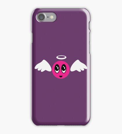 Angel Smiley (pink) VRS2 iPhone Case/Skin