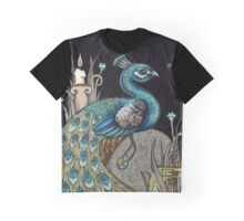Mrs Peacock Graphic T-Shirt