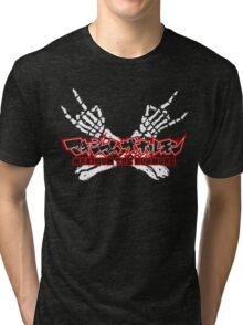 Maximum the Hormone - Logo Tri-blend T-Shirt
