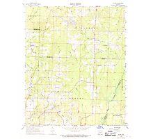 USGS TOPO Map Arkansas AR Falcon 258432 1968 24000 Photographic Print