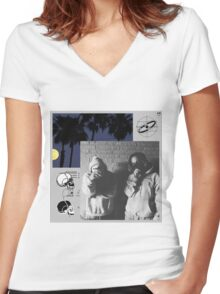 $uicideboy$ cover Women's Fitted V-Neck T-Shirt