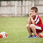 Soccer Break by Tracy Friesen
