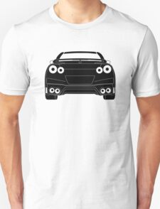 Rear Tail Light Tee / Sticker for R35 Nissan GTR enthusiasts - Black Unisex T-Shirt