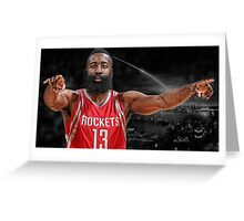 James Harden - Ignition  Greeting Card