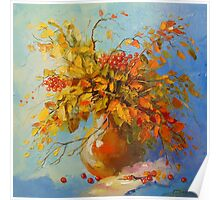 Bouquet of autumn Poster