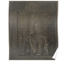 Alberto Giacometti - Portrait of Peter Watson Poster