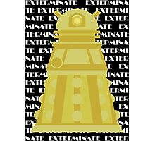 Exterminate Yellow Photographic Print