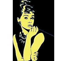 Pop Art Audrey Photographic Print
