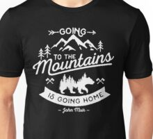 Going to the Mountains!! Unisex T-Shirt