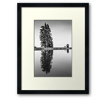 Water Reservoirs Framed Print