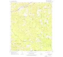 USGS TOPO Map Arkansas AR Buena Vista 258077 1962 24000 Photographic Print