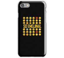 So Emojinal - Emoji Pattern iPhone Case/Skin