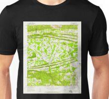 USGS TOPO Map Arkansas AR Olmstead 259301 1954 24000 Unisex T-Shirt