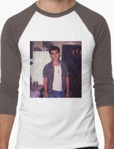 Young Johnny Depp Men's Baseball ¾ T-Shirt