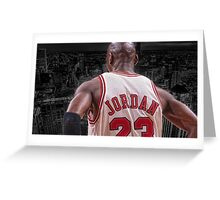 Michael Jordan - Protect MY City Greeting Card