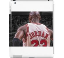 Michael Jordan - Protect MY City iPad Case/Skin