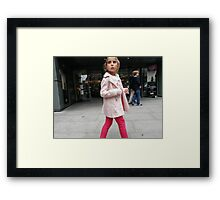 In the Pink (Natural) Framed Print
