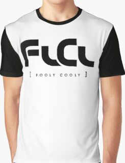 flcl funny text Graphic T-Shirt