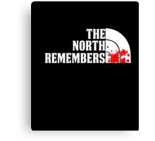 The North Remembers T-Shirt, You GOT Funny Quote Canvas Print