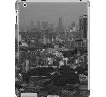 Looking From The Tokyo Broadcasting Tower  iPad Case/Skin