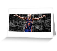 Latrell Sprewell - Are You Not Entertained? Greeting Card