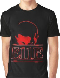 E11E - Stranger Things Graphic T-Shirt