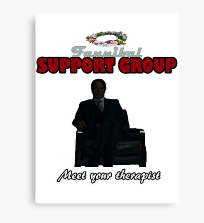 Fannibal Support Group Canvas Print