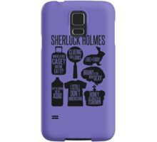 Sherlock Quotes Samsung Galaxy Case/Skin