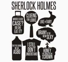 Sherlock Quotes Kids Clothes