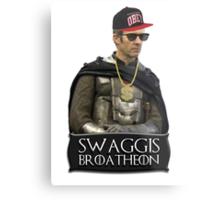 Swaggis Broatheon (Stannis Baratheon) swag game of thrones Metal Print