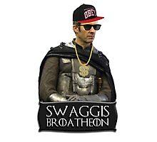 Swaggis Broatheon (Stannis Baratheon) swag game of thrones Photographic Print