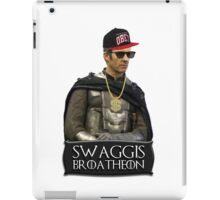 Swaggis Broatheon (Stannis Baratheon) swag game of thrones iPad Case/Skin
