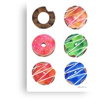The Donut Collection Canvas Print