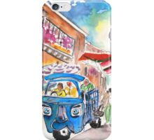 Blue Piaggio In Noto iPhone Case/Skin
