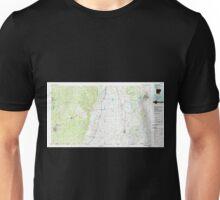 USGS TOPO Map Arkansas AR Crossett 260398 1986 100000 Unisex T-Shirt