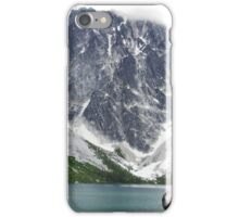Mountains at end of Colchuck Glacial Lake - Cascades NP iPhone Case/Skin