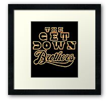 The Get Down  Framed Print