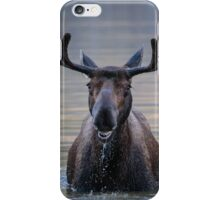 Friendly Moose iPhone Case/Skin