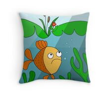 Are you lonely tonight   Throw Pillow