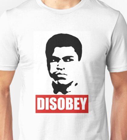 Muhammad Ali - DISOBEY Unisex T-Shirt
