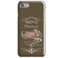Moto Vintage iPhone Case/Skin
