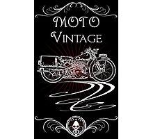 Moto Vintage Photographic Print