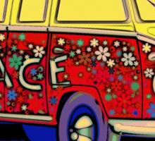 Love On Wheels Sticker
