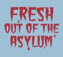 Fresh out of the Asylum Kids Tee